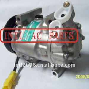 6v12 compressor ac para renault clio kangoo megane scenic 7700111235 7701499970 8200509067 sanden 1417 1417d 1417e 1417f 1417h