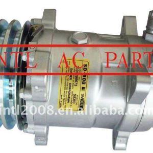 sanden 5h14 508 8390 sd5h14 sd508 auto ar condicionado compressor ac com 2pk polia