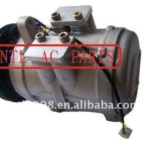 Denso 6E171 compressor ac auto John Deere trator retroescavadeira carregadores combina algodão Pickers / Strippers TY6626 TY6766 047100-8530