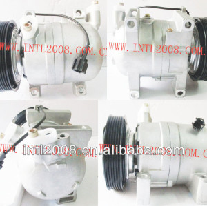 Ac compressor nissan frontie 1999-2004/xterra 2001-2004 92600- 5s700 926005s700 67454 68454 co 10875rw 6pk polia