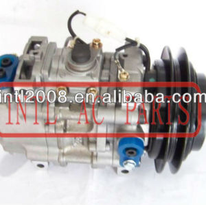 Mitsubishi canter denso tv12c compressor ac com polia v oem#442500 - 2533 4425002533