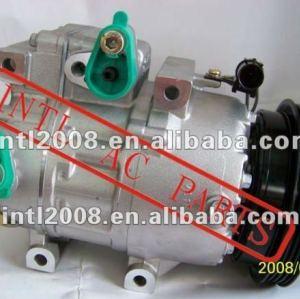 Air compressor ac vs16 hyundai accent 1.6l 2006-2009 97701- 1e000 97701-17511 97701- 1e001 f500-cb5aa-06 co 10925c 10925x co