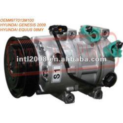 China factory HCC Auto air Compressor HYUNDAI GENESIS 2009 HYUNDAI EQUUS 08MY 977013M100 97701-3M100 97701 3M100