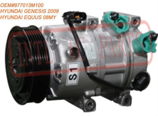 HCC Auto air Compressor for HYUNDAI GENESIS 2009 HYUNDAI EQUUS 08MY OEM#977013M100 97701-3M100