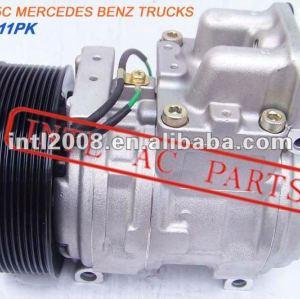 Denso aircon compressor ac mercedes mb sk mk nk caminhão, mercedes actros a5412301111 a6161301015 6161301015 5412300111 4471006381