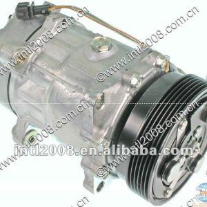 Sanden sd7v16 1206/1221 compressor aplicável para audi tt l4/audi tt quattro/volkswagen golf parte não 1j0820803a 1j0820805