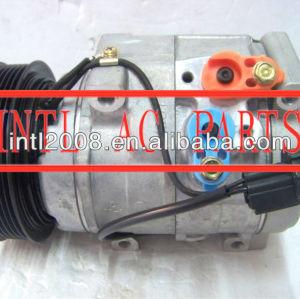 Mr568288 mr500877 denso 10s17c carro ac um/c compressor para mitsubishi pajero montero 447220-3636 4472203639 447220-3984 97338