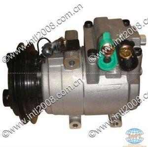 Auto bomba de ar compressor ac novo hs-15 hs 15 para hyundai h-1 oem#97701- 4a750 977014a750