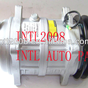 brand new auto ar condicionado compressor ac tm16 para ônibus de ar condicionado auto bomba 2pk polia