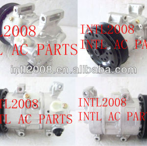 Denso 5se12c 7pk ar um/compressor ac para toyota avensis( corolla) verso de 88310-05090 88310- 0f030 447260-1744 4472209398 4471903660