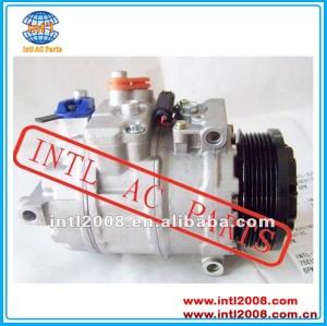DENSO 7SEU17C A/C Compressor for Mercedes-Benz W203 W220 C KASA C240 C320 W209 W215 C S CLASS A0002309111 A0012300011 447150-2790 0002309111 000 230 91 11 471-0466 471-0468 CO 10807JC