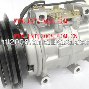 Nova denso 10p15 10p15c 5450 auto um/compressor ac para toyota hilux r134a bombas de ar condicionado