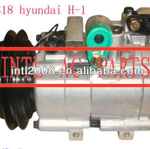 Hcc hs18 ac compressor do carro para hyundai h1 h-1 starex 2.5 td 2.4 4wd 97701- 4a071 97701- 4a300 97701- 4a370 97701- 4a070 a5w00001b