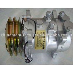 AC Klimakompressor Pump for SD507 5H11 5108 5133 12V 2A 125MM O-RING