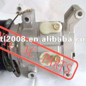 10S11C denso AC A / C compressor para toyota hilux SR5 captura 4.0 2.0 / 2.7 VVT gasolina 447260-8040 447160-1990 447180-8301