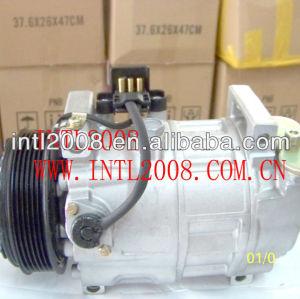 Denso 6ca17c carro compressor ac para mercedes benz c280 w202 s202 c180 a208 c36 a0002301311 0002340711 0002345203 447200-9053