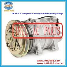 Dks13ch auto compressor da ca para isuzu rodeo/pickup/amigo 67631