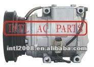 Kompressor ac auto bomba 10pa17l aplicável para toyota camry oem# 810828011