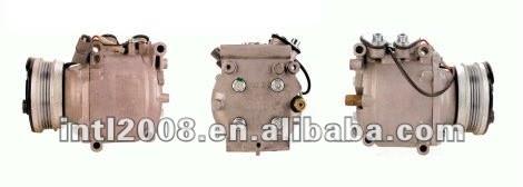 Sanden trf090 2050 2052 2054 carro um/c compressor de ar para honda civic 93-99 38800-p06-a01 38800-p06-a03 38810-p07-024 38800p06a03