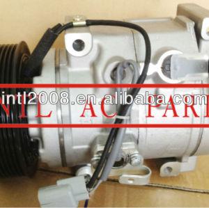 Denso 10SR19C 447280-0012 247300-5652 4472800012 auto ac compressor de ar condicionado para Toyota Landcruiser GRJ200 / 200 série