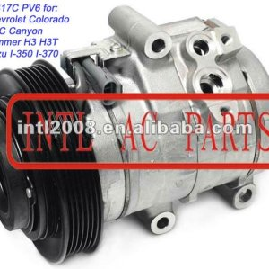 10s17c compressor ac para 2004-2011 chevrolet colorado/gmc canyon/hummer h3 h3t/isuzu i-350 i-370 447220-4892 447220-4891