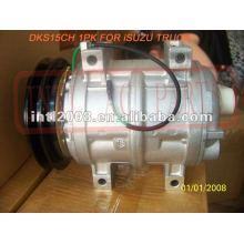Dks15ch pv1 compressor ac para isuzu caminhão 24v oem#506211- 7800 5062117800 24b422723
