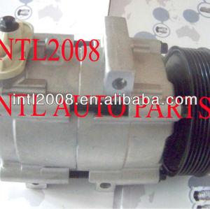 Fs10 con air ac compressor do carro para ford transit 2.4 1447718 4502836 4979391 yc1h19d629aa yc1h19d629ab pv7 yc1h19d629ac polia
