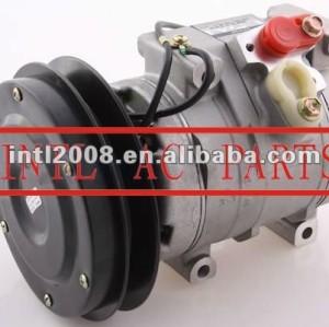 Ac auto compressor 10s17a substitui 10s15c john deere komatsu 447220-4052 447220-4053 447220-4781 20y-979-6121 4472205506 1131243