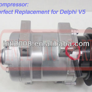 Sanden 1a sd508 508 compressor ac kia pregio mini micro ônibus 0k72b- 61450 pk72b61450e 0k72b61450 substitui delphi v5 compresor de aire