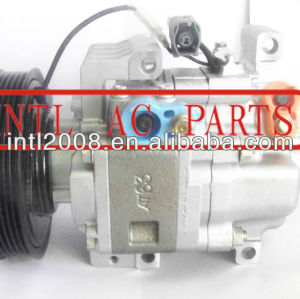 China supply PANASONIC 6PK pulley auto ac airconditioning compressor for mazda 3 2.3 H12A1AL4A1