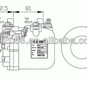 Cr-14 1a( kompresor) compressor ac nissan primera 2.0td p11/almera 2.0d 92600- 2j603 92600- 94n05 92600- 56c10 55750-45010