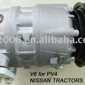 Auto A / C Compressor para tratores NISSAN PV4