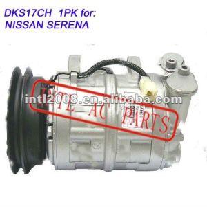 Compressor de ar dks17ch 1pk para nissan serena para atacado e varejo&