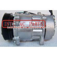 Sd7v16 compressor para peugeot 206 306 406 605 607 806 boxer parceiro especialista 1989-2007 6453tj 9613260680 sd7v16-1227 1218 6453l5