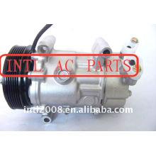Sd6v12 1449 carro compressor ac para citroen c2 c3 nemo/1007 peugeot, bipper/fiat 6453jl 6453xj sd6v12 1449 9671456680 9655191580