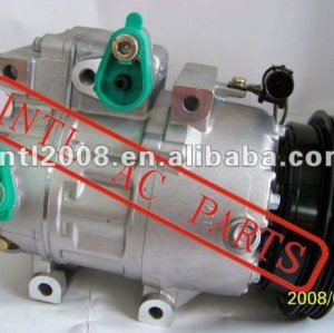 Ac compressor vs16 pv4 para hyundai elantra l4 2.0l 1 2007-2012 2008 2009 2010 2011 parte no# 447200-9464 10r-12971 447200 9464