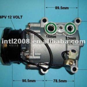 Ys4h- 19d629- ab sc90v/sc-90v scroll auto compressor da ca para ford fiesta/foco/fusão/tourneo connect/transit connect mazda 2