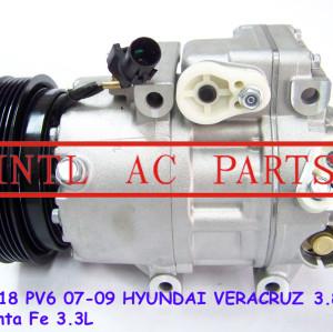 Ac compressor vs18 hyundai veracruz 3.8l 2007-2009 97701- 2b300 977012b300 97701 2b300 halla- hcc f500-ma5ba-13 ma5ba-01 ma5ba-13