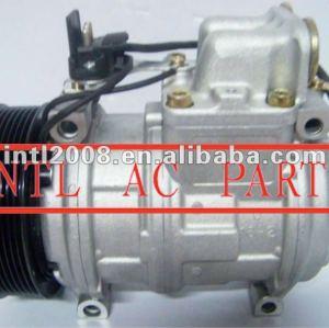 Denso 10pa17c ar compressor ac para mercedes benz com embreagem pv8/8pk polia 0002300111 0002300211 compressor ar condicionado assy