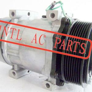 Auto ar condicionado ac compressor PV8 polia 24 V kompressor SANDEN SD709 7H15 SD-709 SD7H15 universal usado