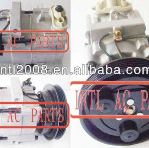ar condicionado compressor ac fs10 kia sephia hyundai sonata 4pk 0k20b61450d 0k20b61450e 0k24c61450a ok20b61450d ar condicionado carro