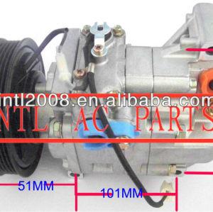 6pk polia embreagem panasonic ar compressor ac para mazda 3 1.6 2003-2009 04 05 06 07 h12a1ag4dy bp4k-61-k00 bp4k61k00 aircon