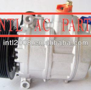 Mod. Mb 7sb16c actros 9pk polia 24v compressor mercedes benz compressor ac 447170-9114 447180-4366