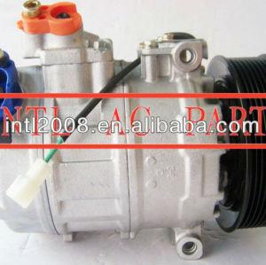 Compressor a c Denso 7SB16C 9PK / 7SBU16C para Mercedes Actros caminhões / Axor / Citaro1836 1832 3535 / 4140 / 4143 0002343711 4572300111