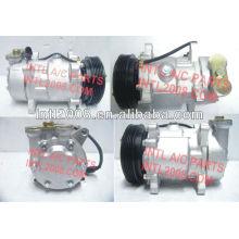 Sanden 1400a 1500 7v12/7v10 compressor ac para citroen saxo/peugeot 106 306 parceiro 9613260680 6453gc 6453n1 9626902180 6453k4