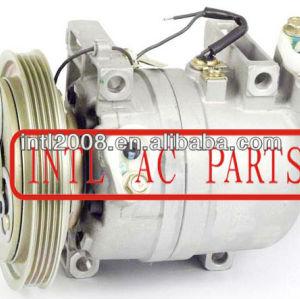 Ac compressor dkv14c nissan frontier xterra 1999-2004 926007b410 926004s100 92600- 4s100 92600- 7b410 67428 67429 co 10386rw 4pk