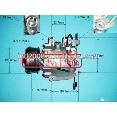 Ac compressor de ar para trse07- honda- civic 1.8 7pk 3430 4903 3410 38800rncz01m2 38800rsae010m2 38800rsae010 38800rncz02 kompressor