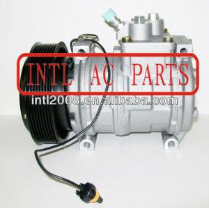 Denso 10pa17c auto ac compressor de assy john deere 8pk co 22030c 447200-4933 4472004933 re46609 ty6764 ty24304 condicionador de ar