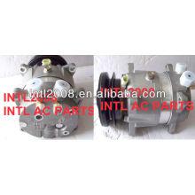 1gr 12v univeral v5 carro um/c compressor com conexão rotalock/kompressor