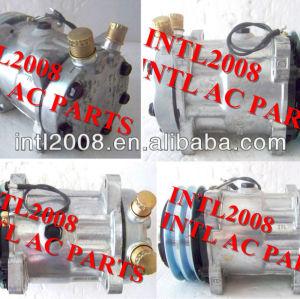 Brand new sd7h15 sanden 7h15 8220 um/c compressor 12v condicionador de ar da bomba